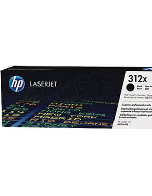 ~Brand New Original HP CF380X (312X) High Yield Laser Toner Cartridge Black