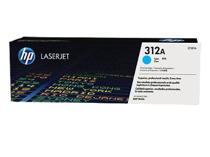 ~Brand New Original HP CF381A (312A) Laser Toner Cartridge Cyan