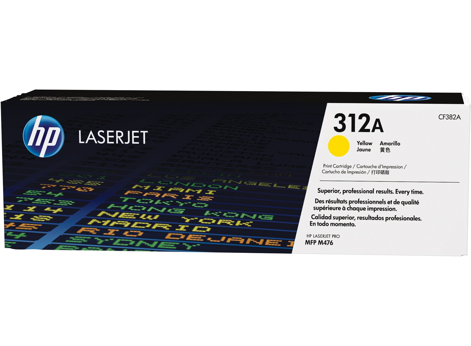 ~Brand New Original HP CF382A (312A) Laser Toner Cartridge Yellow
