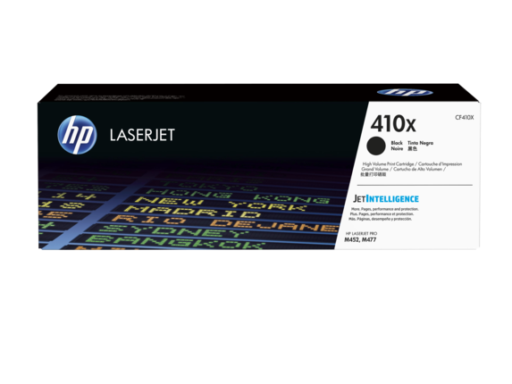 ~Brand New Original HP CF410X (410X) Black High Yield Laser Toner Cartridge