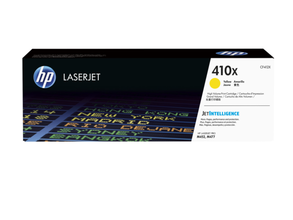 ~Brand New Original  HP CF412X (412X) Yellow High Yield Laser Toner Cartridge