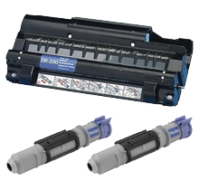 BROTHER DR200 & TN200 x2 DRUM UNIT / Laser Toner Cartridge COMBO PACK