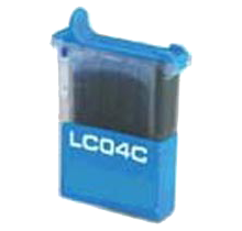 BROTHER LC04C INK / INKJET Cartridge Cyan