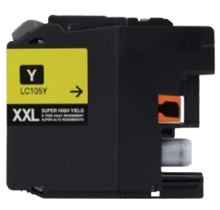BROTHER LC105Y (XXL) INK / INKJET Cartridge Super High Yield Yellow