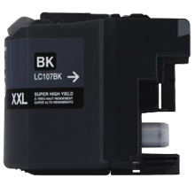 BROTHER LC107BK (XXL) INK / INKJET Cartridge Super High Yield Black