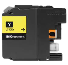 BROTHER LC10EY Super High Yield INK / INKJET Cartridge Yellow (XXL Series)