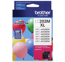 ~Brand New Original BROTHER INK LC203M INK / INKJET Magenta
