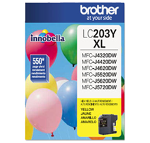 ~Brand New Original BROTHER INK LC203Y INK / INKJET Yellow