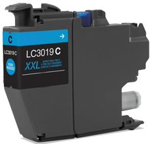 BROTHER LC3019C Extra High Yield INK / INKJET Cartridge Cyan