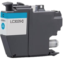 BROTHER LC3029C Extra High Yield INK / INKJET Cartridge Cyan
