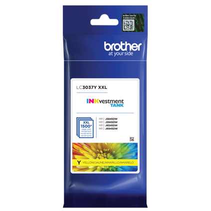 ~Brand New Original Brother LC3037Y Yellow Ink Cartridge Extra High Yield