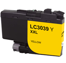 Brother LC3039Y Yellow Ink Cartridge Ultra High Yield