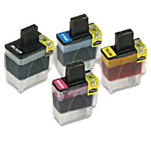 BROTHER LC41 INK / INKJET Cartridge Set Black Cyan Yellow Magenta