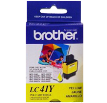 ~Brand New Original BROTHER LC41Y INK / INKJET Cartridge Yellow