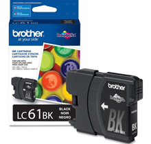 ~Brand New Original BROTHER LC61BK INK / INKJET Cartridge Black