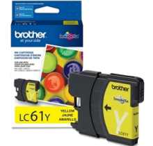 ~Brand New Original BROTHER LC61Y INK / INKJET Cartridge Yellow