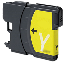 BROTHER LC65Y INK / INKJET Cartridge Yellow