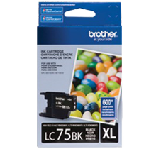 ~Brand New Original BROTHER LC75BKS High Yield INK / INKJET Cartridge Black