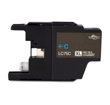 BROTHER LC75CS High Yield INK / INKJET Cartridge Cyan