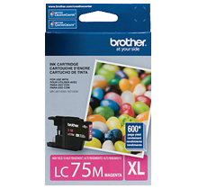 ~Brand New Original BROTHER LC75MS High Yield INK / INKJET Cartridge Magenta