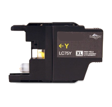 BROTHER LC75YS High Yield INK / INKJET Cartridge Yellow