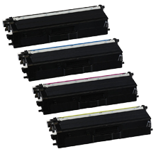 BROTHER TN-431 Laser Toner Cartridge Set Black Cyan Magenta Yellow