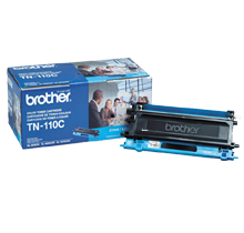 ~Brand New Original BROTHER TN110C Laser Toner Cartridge Cyan