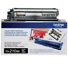 ~Brand New Original BROTHER TN210BK Laser Toner Cartridge Black