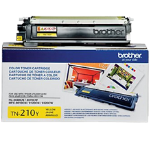 ~Brand New Original BROTHER TN210Y Laser Toner Cartridge Yellow