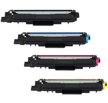 Brother TN223 Laser Toner Cartridge Set Black Cyan Magenta Yellow   - With Chip