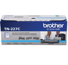 ~Brand New Original Brother TN227C Cyan High Yield Laser Toner Cartridge