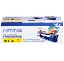 ~Brand New Original Brother TN310Y Laser Toner Cartridge Yellow