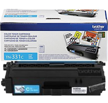 ~Brand New Original BROTHER TN331C Laser Toner Cartridge Cyan