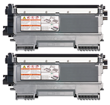 PACK of 2-Brother TN450 Laser Toner Cartridge High Yield