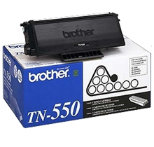 ~Brand New Original Brother TN550 Black Laser Toner Cartridge