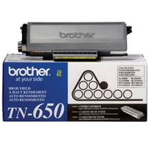 ~Brand New Original BROTHER TN650 Laser Toner Cartridge High Yield