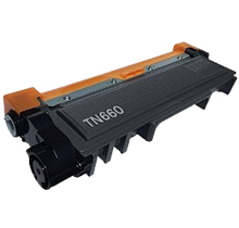 BROTHER TN660 Laser Toner Cartridge Black High Yield