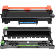 BROTHER DR730 / TN760 –NO CHIP- HIGH YIELD LASER TONER CARTRIDGE DRUM UNIT COMBO PACK