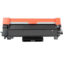 BROTHER TN770 Laser Toner Cartridge Black -WITH CHIP-