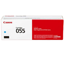 ~Brand New Original Canon 3015C001  (055) Cyan Laser Toner Cartridge No Chip