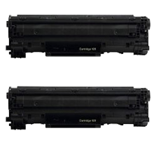 PACK of 2-CANON 128 (3500B001AA) Laser Toner Cartridge