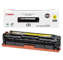 ~Brand New Original Canon 6269B001AA (Canon 131) Laser Toner Cartridge Yellow