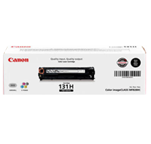~Brand New Original Canon 6273B001AA (Canon 131) High Yield Laser Toner Cartridge Black