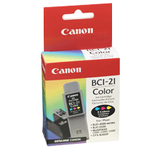 ~Brand New Original Canon BCI-21C COLOUR INKTANK