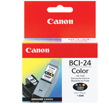 ~Brand New Original Canon BCI-24C 3 COLOUR INKTANK