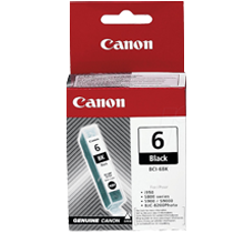 ~Brand New Original CANON BCI6BK INK / INKJET Cartridge Black