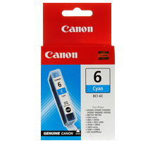 ~Brand New Original CANON BCI-6C INK / INKJET Cartridge Cyan