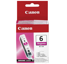 ~Brand New Original CANON BCI6M INK / INKJET Cartridge Magenta