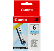 ~Brand New Original CANON BCI6PC INK / INKJET Cartridge Photo Cyan
