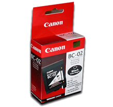 ~Brand New Original CANON BC02 INK / INKJET Cartridge Black